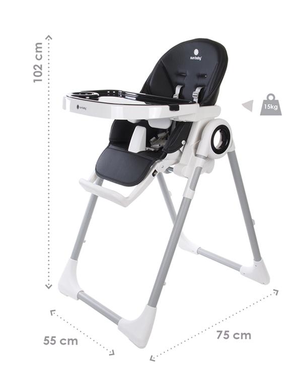Wymiary krzesełka do karmienia dzieci