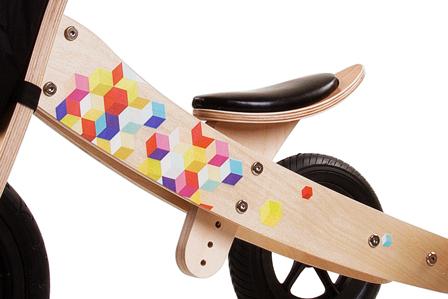 Rowerek biegowy twist Cubic wyprodukowany z najwyższą starannością