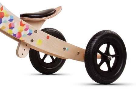 Rowerek twist Cubic 2w1 dla mniejszych i starszych dzieci