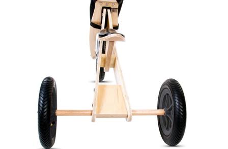 Odpowiednio wyważony rowerek biegowy dla dziecka