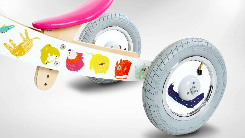 Rowerek 2w1 dla mniejszych i starszych dzieci