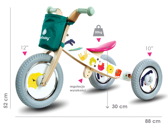 Twist dimenzije safari bicikla by mamala.leo